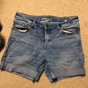 Old Navy Shorts - Old Navy Cuffed Rock Star Skinny Shorts